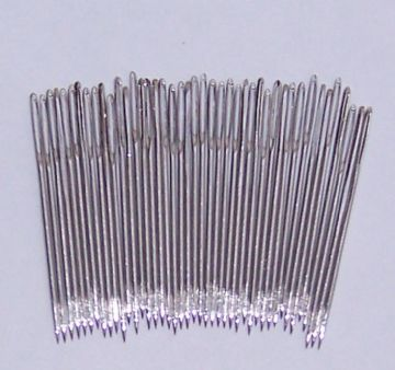 Size 18 Nickel Plated Chenille Needles